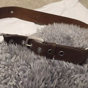 LOFT Genuine Leather Brown Belt